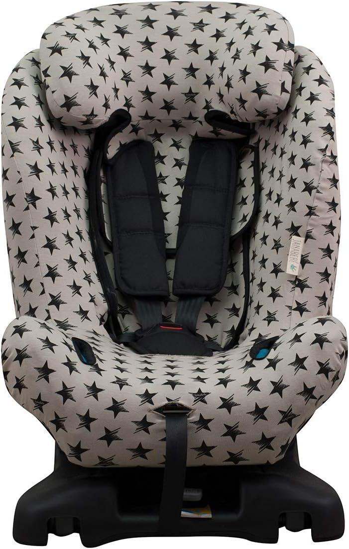 JANABEBE Housse pour Axkid Minikid Black Star Kidzone Duofix