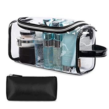 09414428f2 Image Unavailable. Image not available for. Color  Amzbag Transparent Toiletry  Bag ...