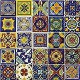 Moorish Tile Hemp Blue Rug