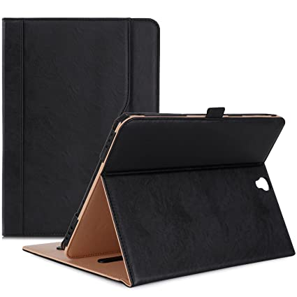 size 40 f0707 e1a1e ProCase Galaxy Tab S3 9.7 Case, Stand Folio Case Cover for Galaxy Tab S3  Tablet (9.7 Inch, SM-T820 T825), with Multiple Viewing Angles, Document  Card ...