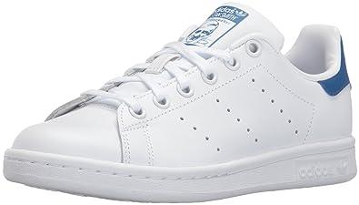 81aabb06bd5e adidas Originals Big Kids Stan Smith Shoes Color White/White/Equipment Blue  Size 6