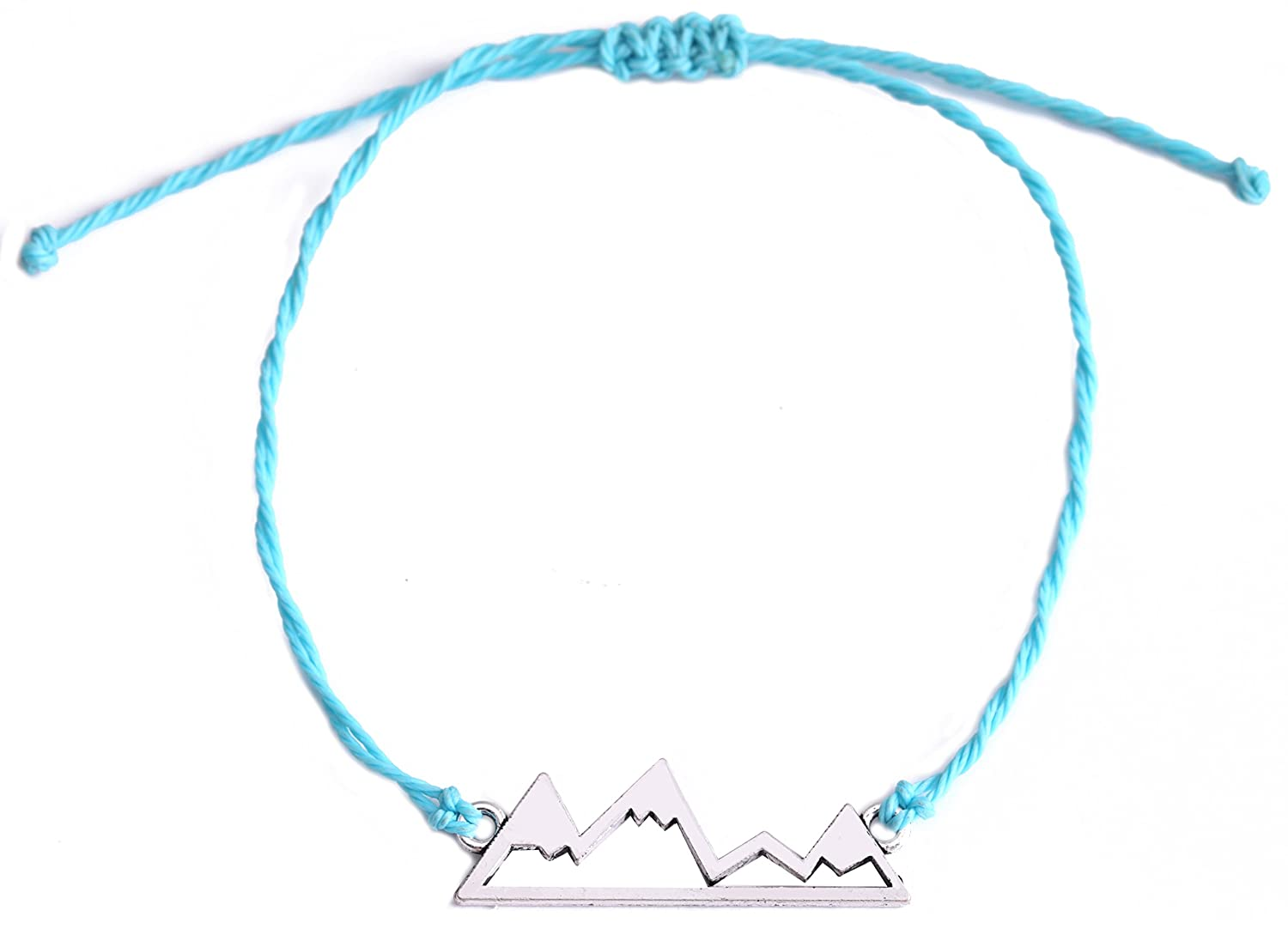 Romantic Mountain Adventure Hiking Bracelet for Outdoos Traveller Lovers GeXiang