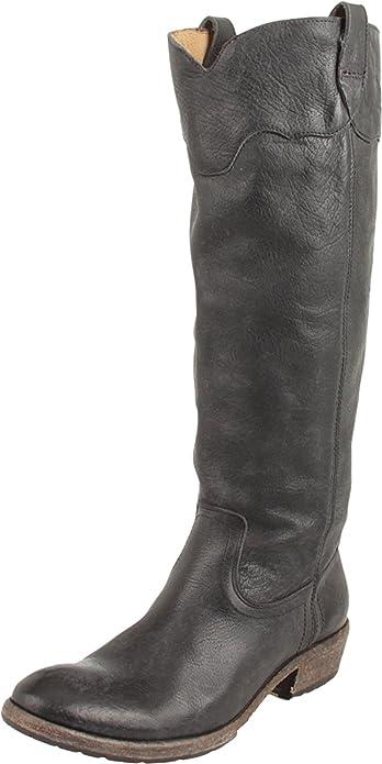 e277ba9d52f11d Frye Carson Lug Knee-High Damen Braun Rund Cowboy Stiefel Neu Display EU 36