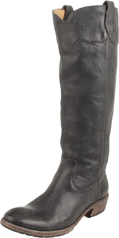 FRYE Women's Carson Lug Riding Boot B004WN4SNG 6 B(M) US Black Stone Antique-77203