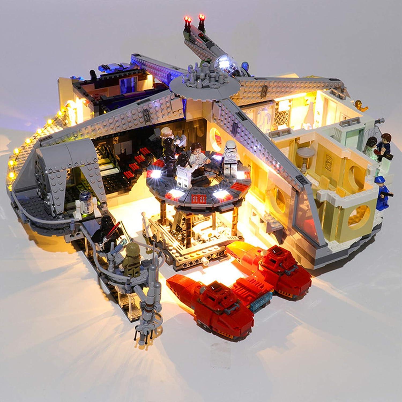 iCUANUTY Kit de Iluminación LED para Lego 75222, Kit de Luces Compatible con Lego Star Wars Betrayal at Cloud City (No Incluye Modelo Lego)