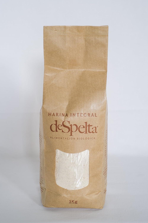 DeSpelta Harina integral de Espelta Ecológica 1kg: Amazon.es ...