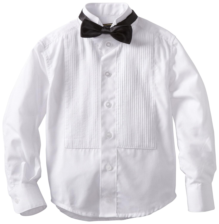 American Exchange Little Boys' Little Tuxedo Shirt with Bowtie American Exchange Boys 2-7 055TUXY