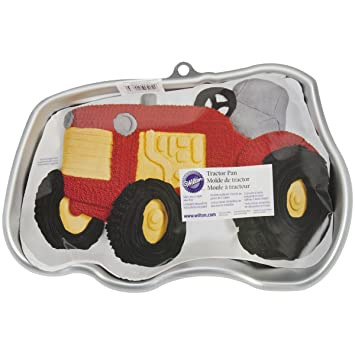 Wilton Traktor Kuchenform Amazon De Kuche Haushalt