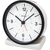 セイコー クロック 目覚まし時計 電波 アナログ 白 KR328W SEIKO