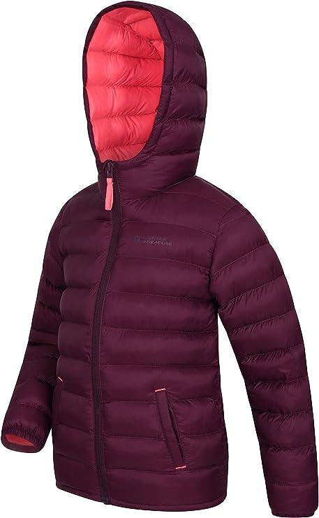 Mountain Warehouse Seasons Gepolsterte Jacke für Kinder, geeignet für alle Jahreszeiten wasserdichte Winterjacke, leicht & warm