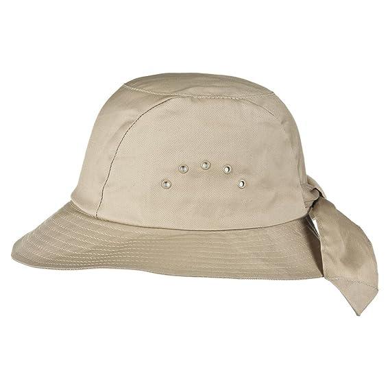 Galaranie Cloth Hat McBURN bucket hat sun hat (One Size - beige ... 9c7cbaf0602