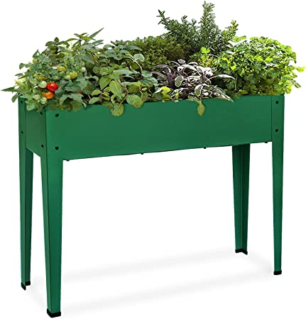 Amazon Com Raised Garden Bed For Vegetables Elevated Planter Box