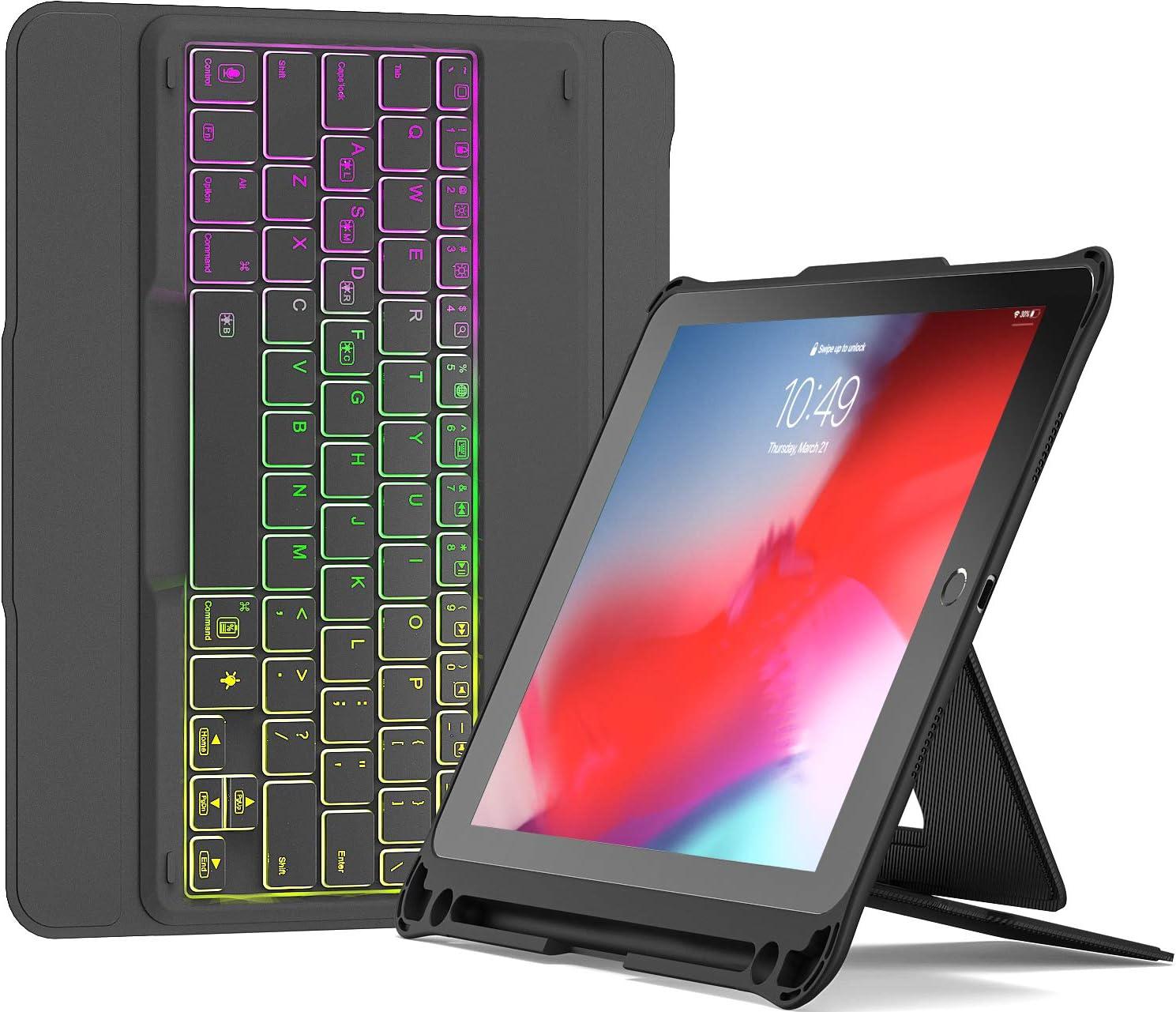 Inateck Funda Teclado para iPad 9.7