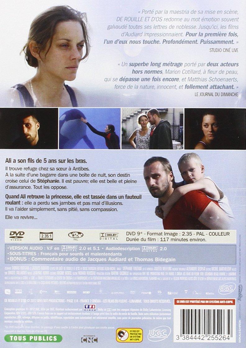 Amazon Com De Rouille Et D Os Cesar 2013 De La Meilleure Adaptation Movies Tv