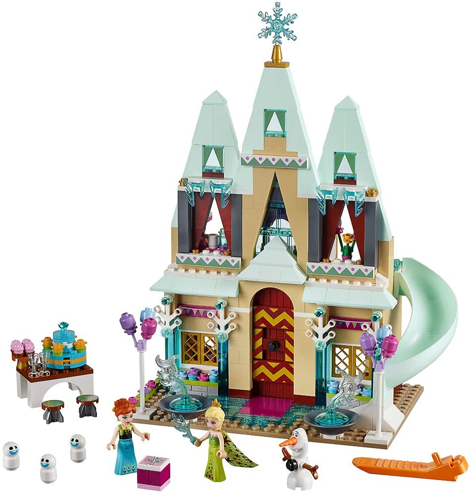 Amazon Com Lego Disney Frozen Arendelle Castle Celebration 41068 Disney Toy Toys Games