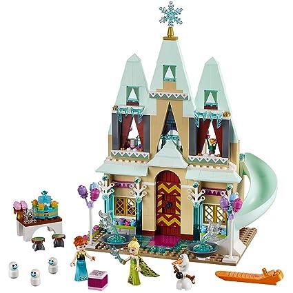 Amazoncom Lego Disney Frozen Arendelle Castle Celebration 41068