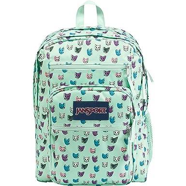 Amazon.com   JanSport Big Student Backpack -Brook Green Cool Cats ... 8b27d23f8f