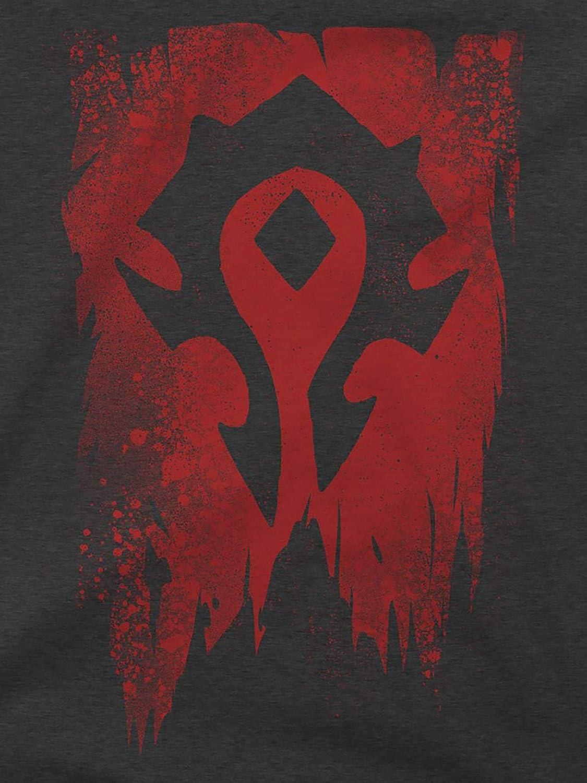 JINX World of Warcraft Herren T-Shirt Horde Banner Premium Baumwolle