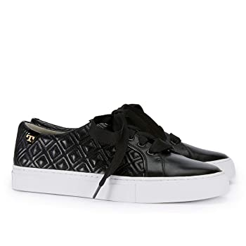 Marion Women's Quilted Leather Logo Sneakers Flats Shoes