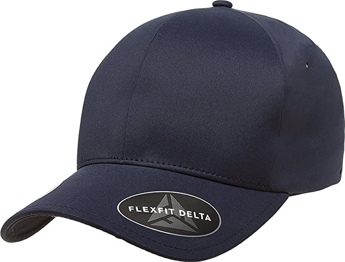 c13a86d3355b2 Flexfit - Delta Seamless Cap - 180-S M-Navy at Amazon Men s Clothing ...