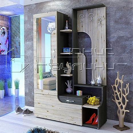 Gli Arredi Di Maria Lia Mobile Ingresso Moderno Con Specchio E Appendiabiti Modello Soho