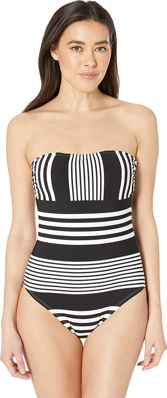 899086c4a0d La Blanca Women s Bandeau One Piece Swimsuit at Amazon Women s Clothing  store