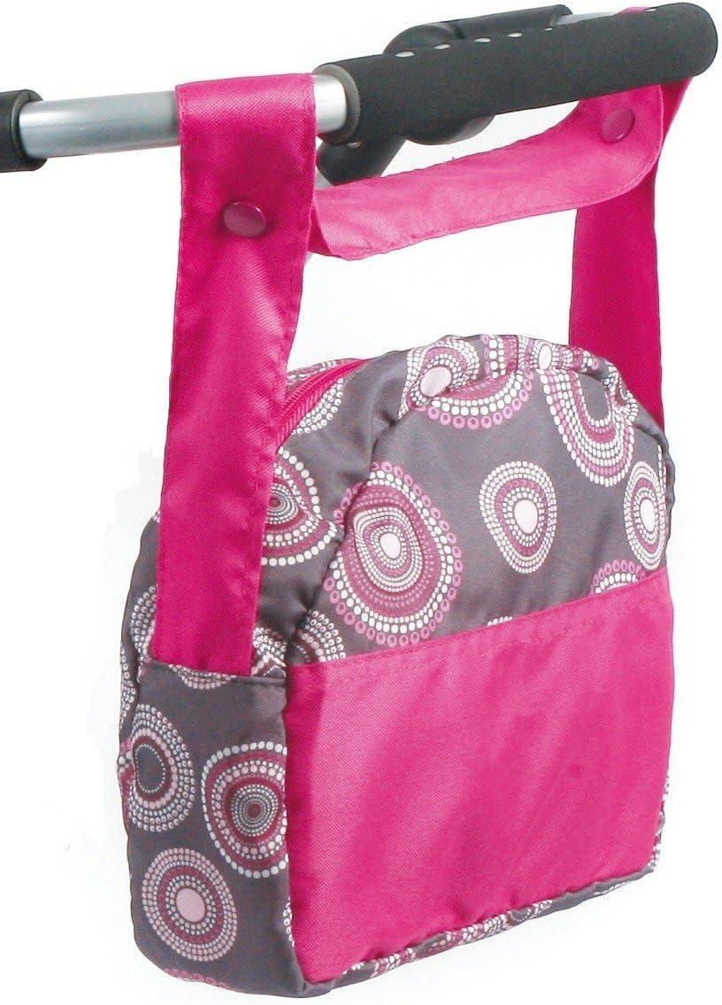 Bayer Chic 2000 853 87 Bolsa para Guardar pañales, Hot Pink Pearls