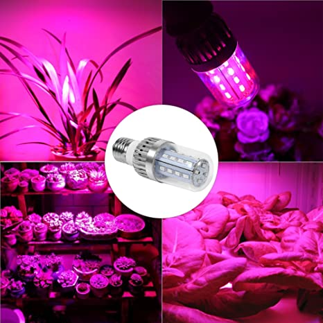 Bombilla led Grow Grow, luces Grow Maiz para plantas de interior, E27 Grow Lamp