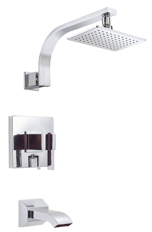 Danze D512044T Sirius Single Handle Tub and Shower Trim Kit, 2.0 GPM ...