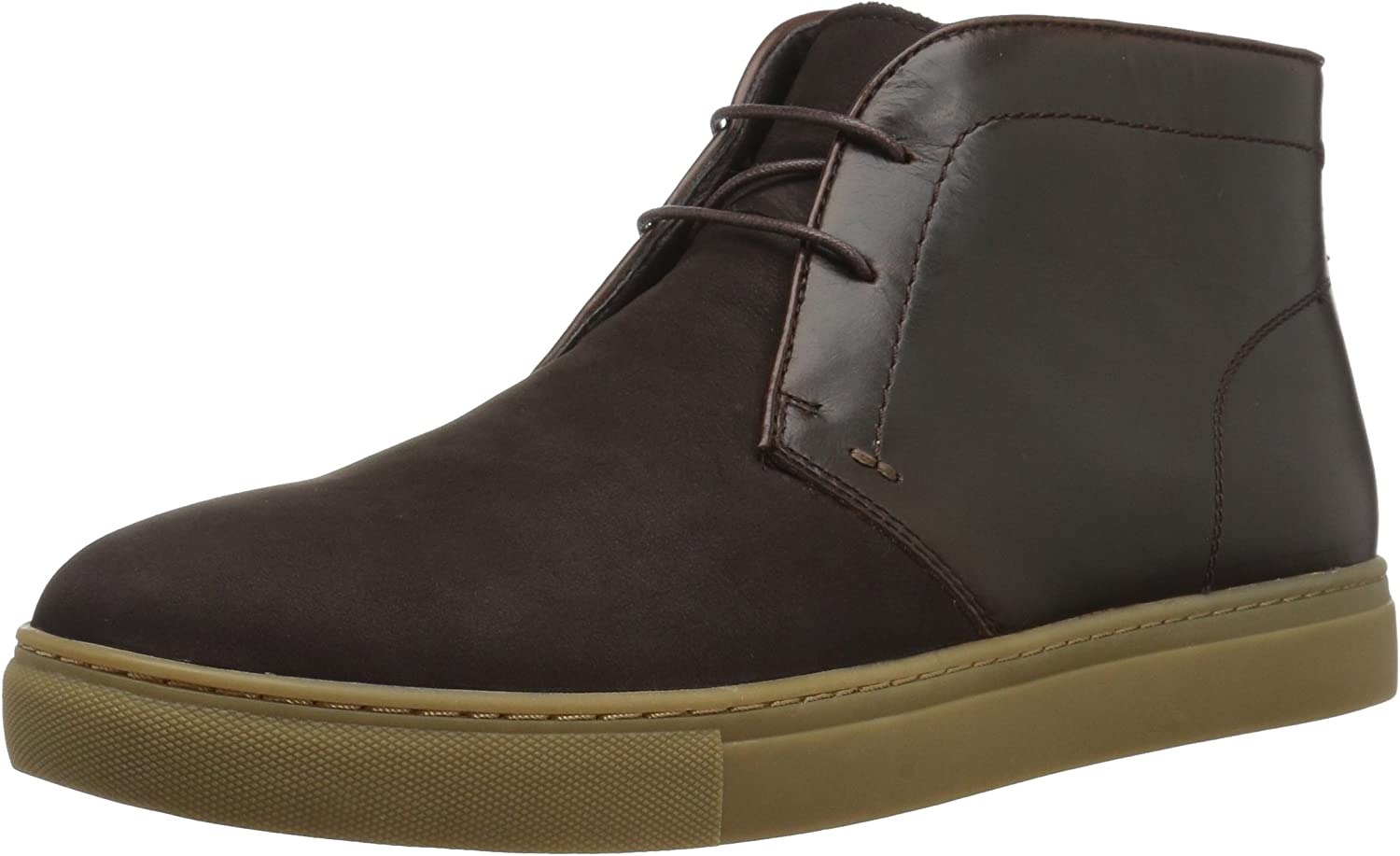 English Laundry Men's Laxey Fashion Sneaker, Brown, 9 M US