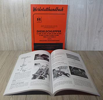 Werkstatthandbuch IHC DED-3 DGD-4 Mc Cormick D-Serie