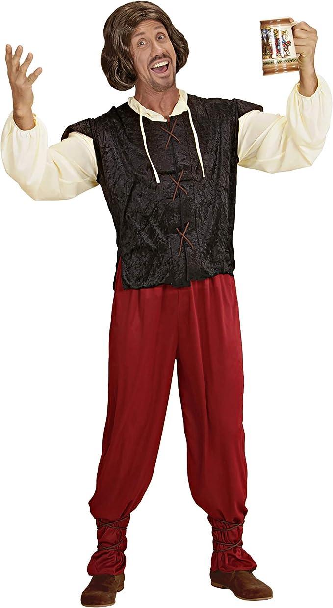 WIDMANN Widman - Disfraz de tabernero para hombre, talla M (35332): Amazon.es: Juguetes y juegos