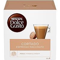 NESCAFÉ DOLCE GUSTO CORTADO ESPRESSO MACCHIATO Caffè macchiato 6 confezioni da 16 capsule (96 capsule)
