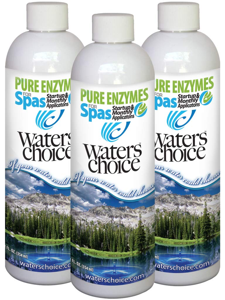 3-Pack of Waters Choice 12 oz. Pure Enzymes for Spas - All Natural Spa Water Care (Formerly Spa Water Polish) by Waters Choice, Inc
