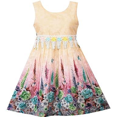 Kleid gelb 128