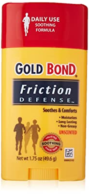 Gold Bond Friction Defense Stick Unscented 1.75 Ounce