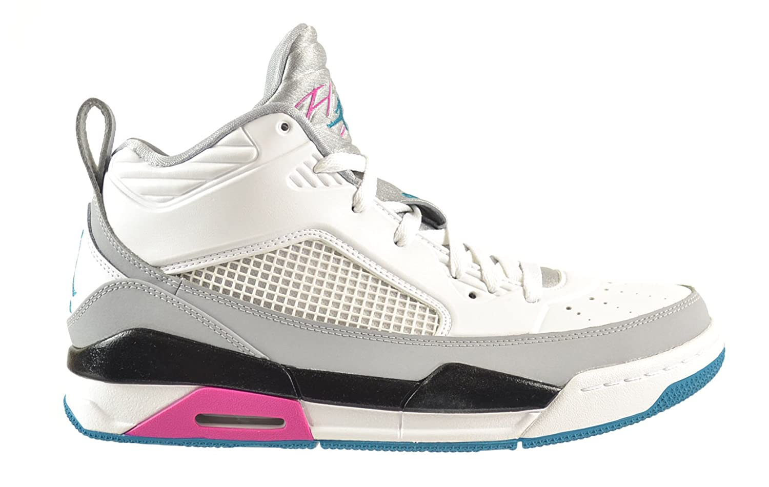 new product 94a21 5f139 Jordan Flight 9.5 Men's Shoes White/Tropical Teal-Wolf Grey-Black 654262-115