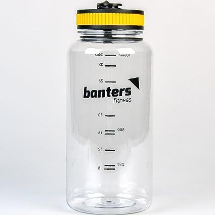 Amazon.com: banters 32 oz de fitness deporte Tritan Sin BPA ...
