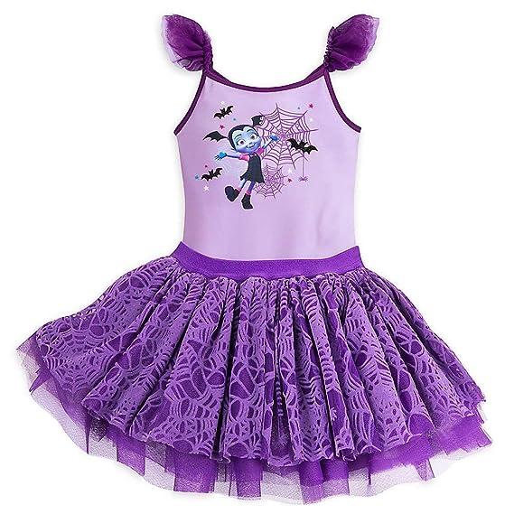 Disney Vampirina Leotard And Tutu Set For Girls Size 3 Purple