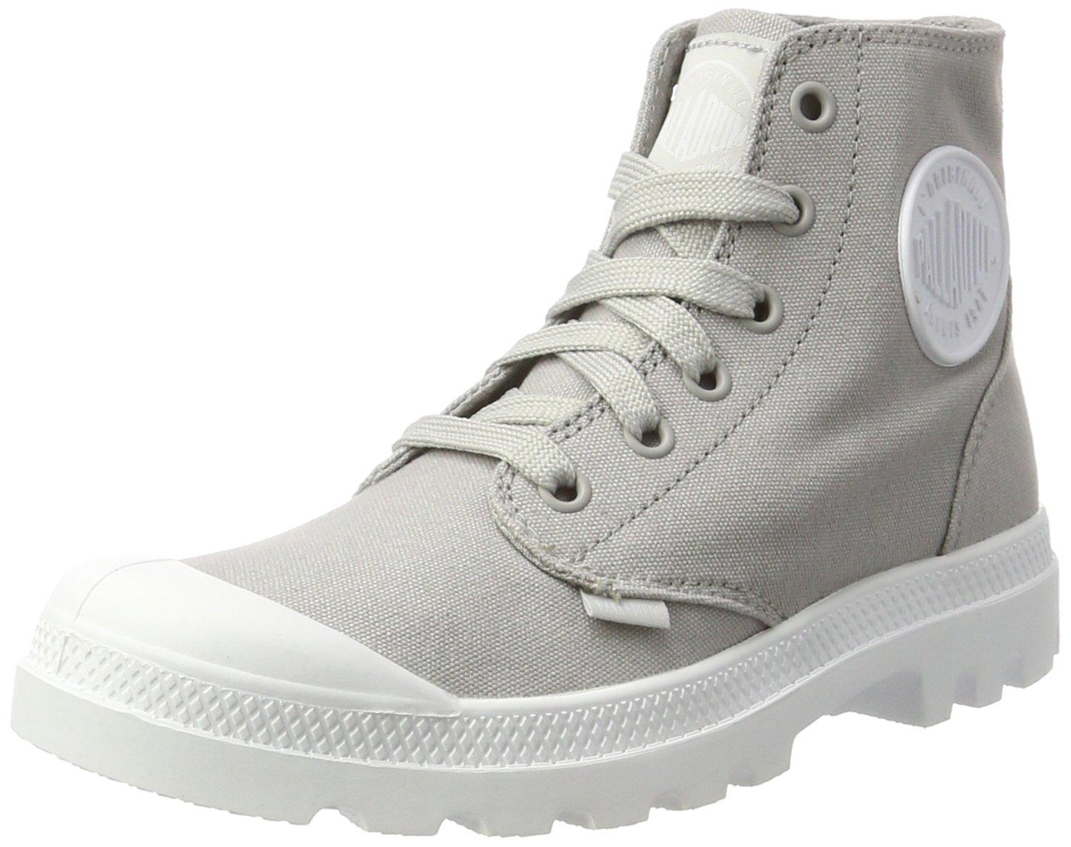 Palladium Men's Blanc Hi Boots, Grey, 8 US