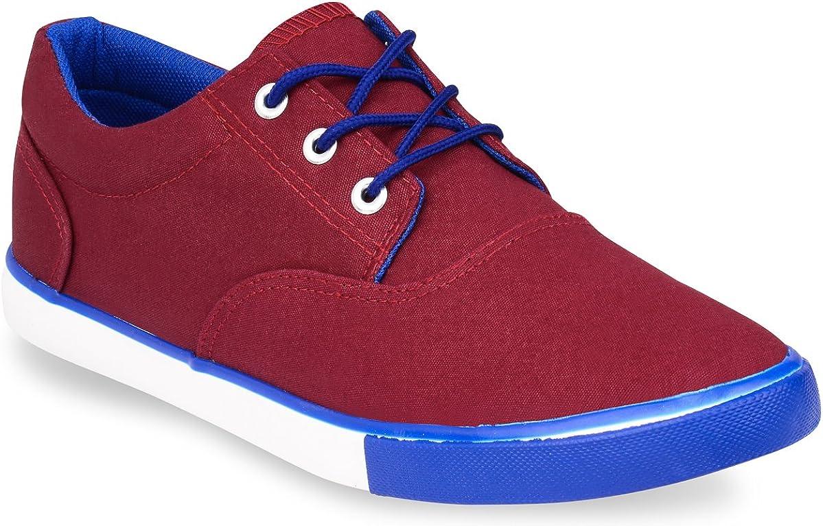 Hipster Mens Solid Skate Shoe