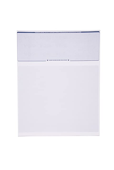 Amazon.com : Check O Matic Computer Check Paper - Pack of 100 ...