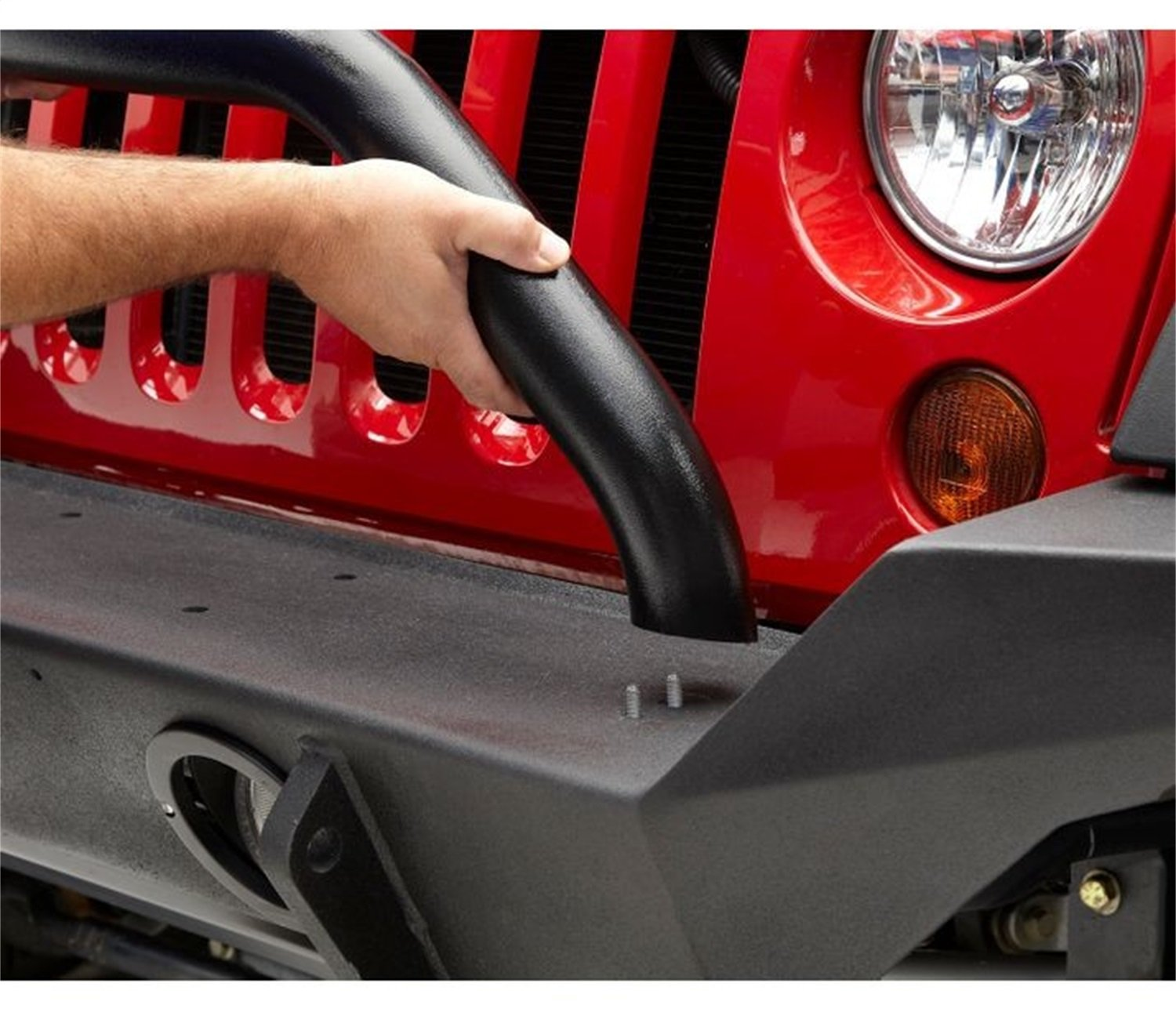 Bestop 44915-01 (HighRock 4x4) Matte Black Grill Guard