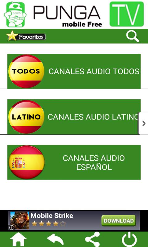 Punga TV Free mobile: Amazon.es: Appstore para Android