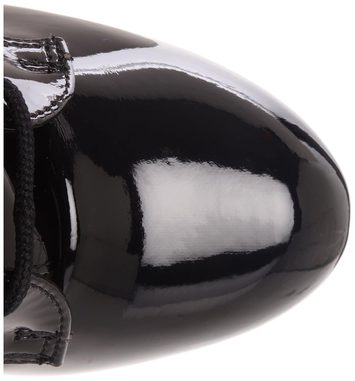 Pleaser Women's Delight-1020/B/M Boot B00247ZVXS 13 B(M) US|Black Patent