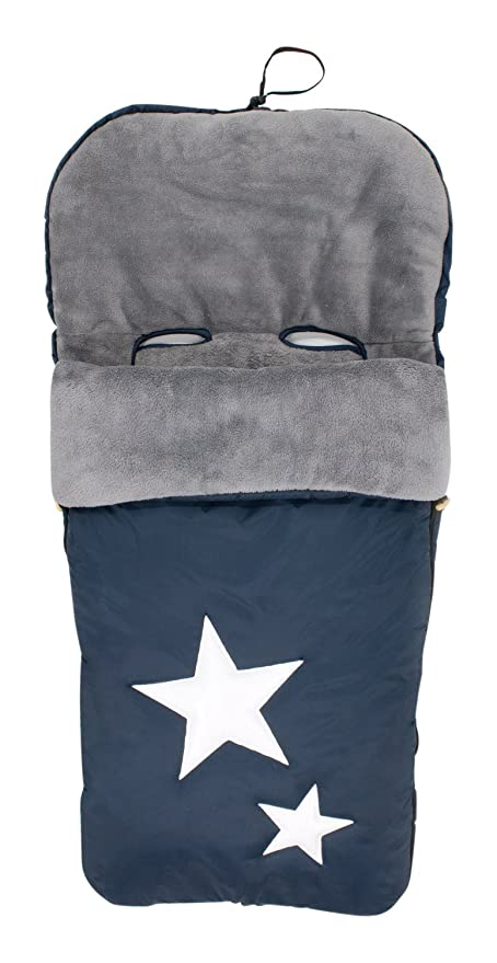 Alondra 643D-402 - Saco para silla de bebé universal, impermeable, bordado, color azul marino