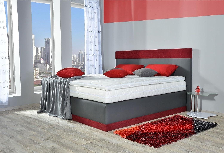 boxspringbett kata bt auch mit bettkasten oder elektrisch. Black Bedroom Furniture Sets. Home Design Ideas