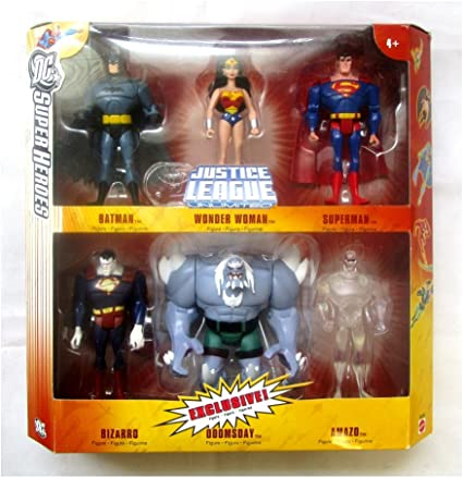 Amazon Com Dc Super Heroes Justice League Unlimited Exclusive