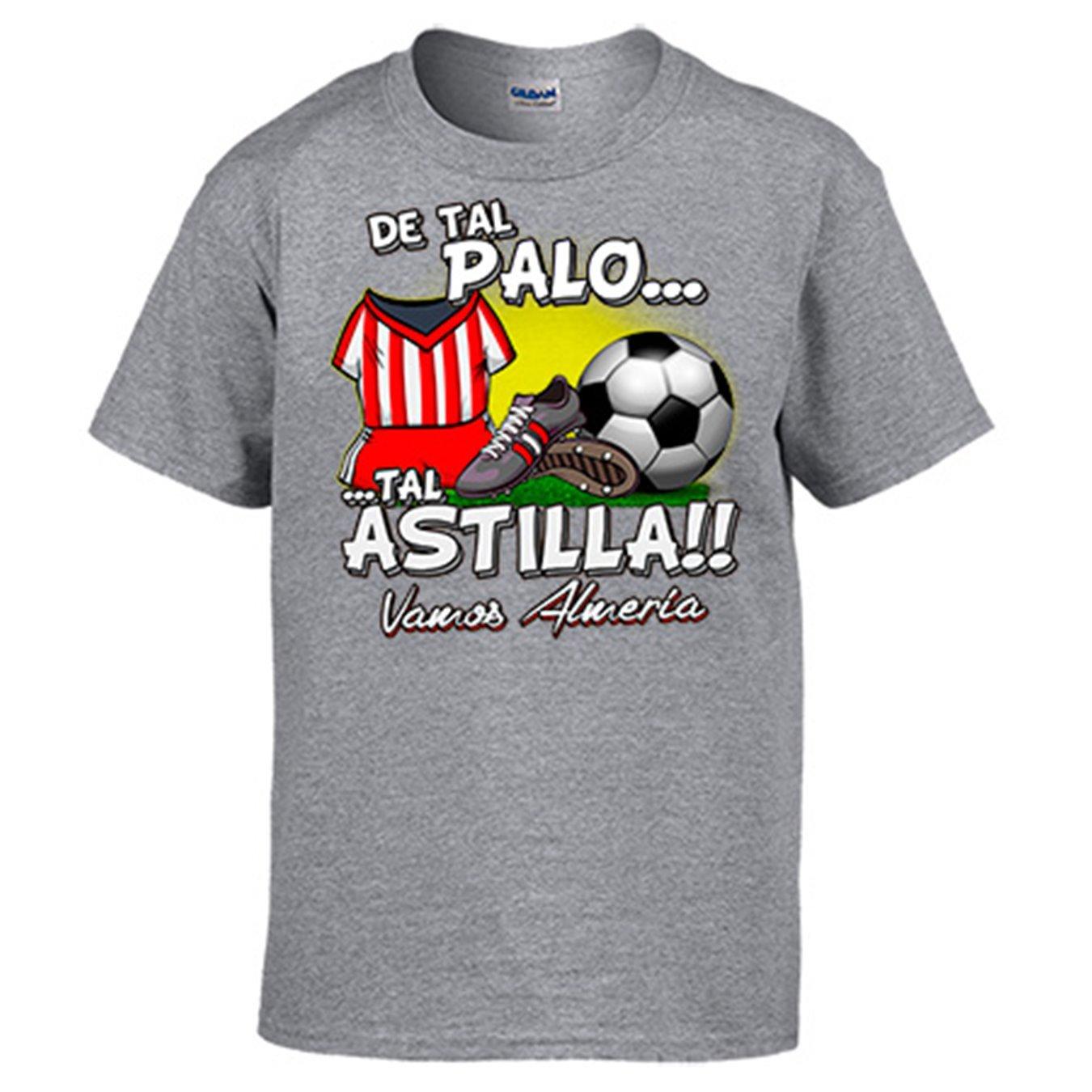 Diver Camisetas Camiseta De Tal Palo Tal Astilla Almería fútbol: Amazon.es: Ropa y accesorios