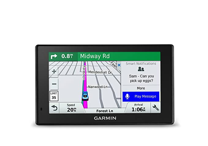 Garmin DriveSmart 51 NA LMT-S with Lifetime Maps/Traffic, Live Parking,  Bluetooth,WiFi, Smart Notifications, Voice Activation, Driver Alerts,